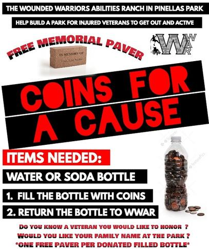 Coins for a Cause Flyer